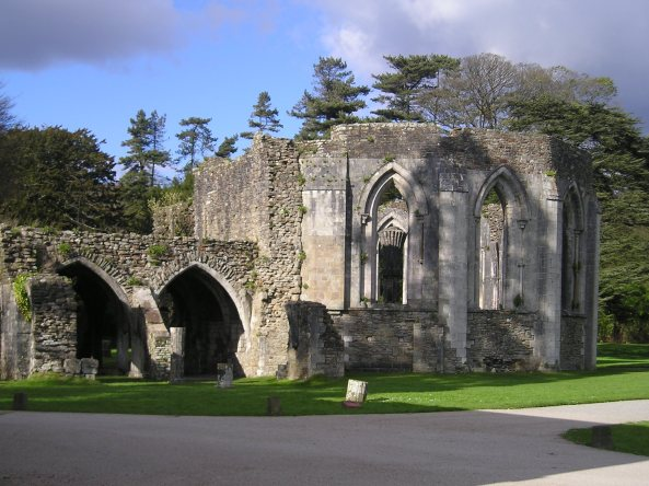 Remains of Margam Abbey