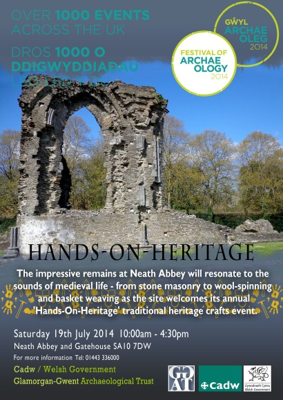 Neath Abbey poster